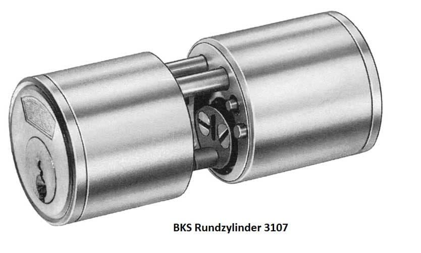BKS Rundzylinder Stuttgart